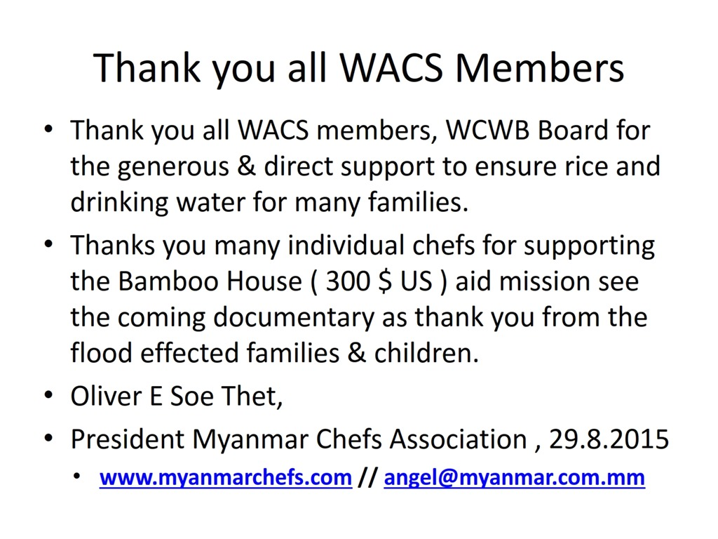 Myanmar Chefs' Association | Chefs from the Golden Land | Page 9
