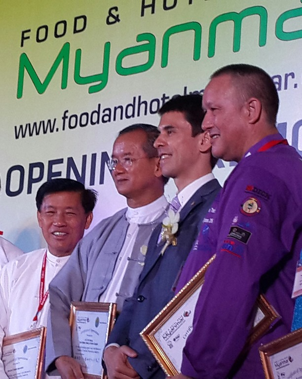 Union Minister Of Hotels Tourism H E U Ohn Maung At 3rd Food